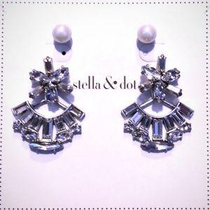 Stella & Dot Starburst Ear Jacket Earrings